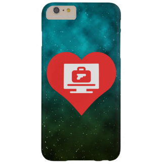 I Love Luggage Screenings Modern Barely There iPhone 6 Plus Case