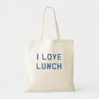 I Love Lunch Tote Bag