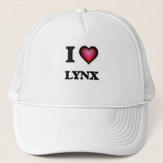 I Love Lynx Trucker Hat