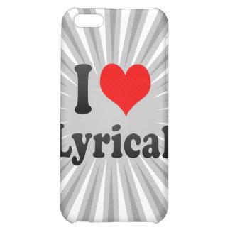 I love Lyrical iPhone 5C Case
