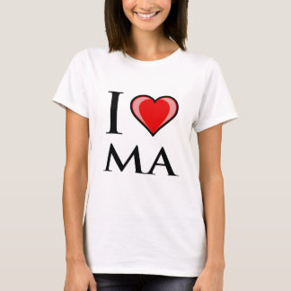 I Love MA - Massachusetts T-Shirt