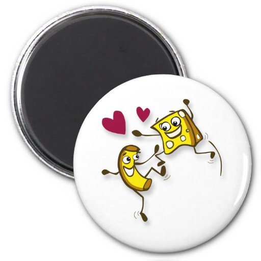 I love mac and cheese magnet