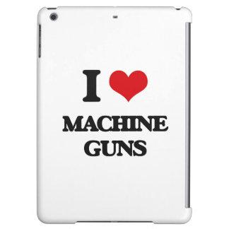 I Love Machine Guns iPad Air Cases