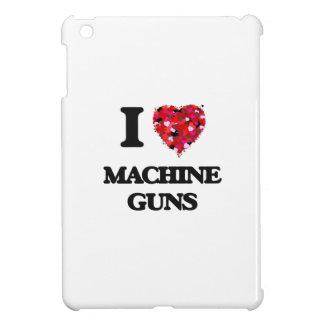 I Love Machine Guns iPad Mini Covers