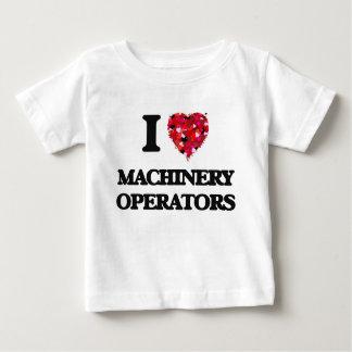 I Love Machinery Operators Shirt