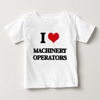 I Love Machinery Operators Tees