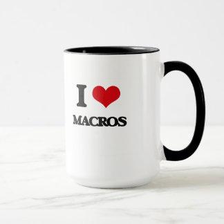 I Love Macros Mug