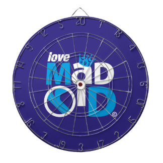 I Love Madrid Best Ever Club Dartboard