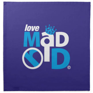 I Love Madrid Best Ever Club Napkin