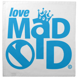 I Love Madrid Crown & Sign ED. Napkin