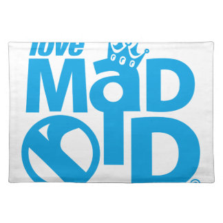 I Love Madrid Crown & Sign ED. Placemat
