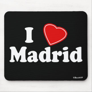 I Love Madrid Mouse Pad