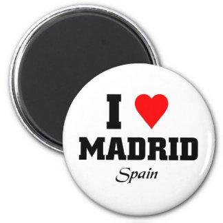 I love Madrid, Spain Magnet