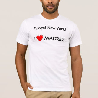 I LOVE MADRID T-Shirt