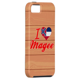 I Love Magee Mississippi iPhone 5 Case