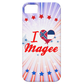 I Love Magee Mississippi iPhone 5 Covers
