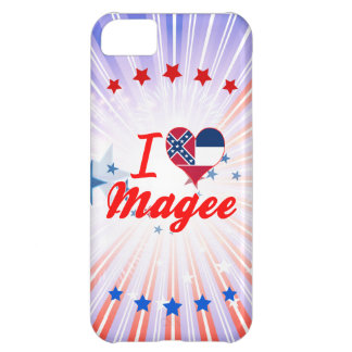 I Love Magee Mississippi iPhone 5C Case