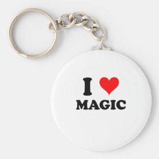 I Love Magic Key Ring