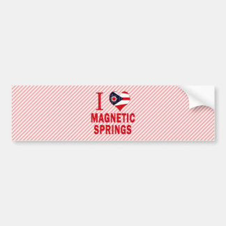 I love Magnetic Springs, Ohio Bumper Sticker