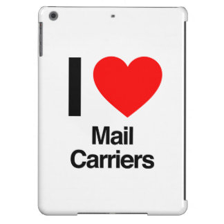 i love mail carriers iPad air covers