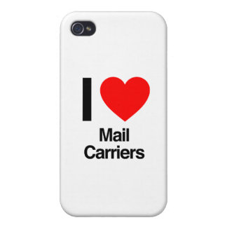 i love mail carriers iPhone 4/4S cover