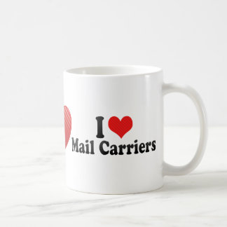 I Love Mail Carriers Mug
