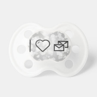 I Love Mails Pacifiers