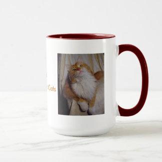 I Love Maine Coon Cats Mug