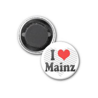 I Love Mainz, Germany Magnet
