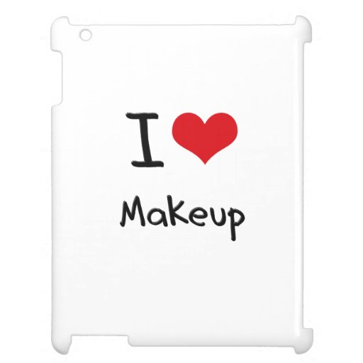 I love Makeup iPad Case