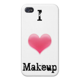"""""""I Love Makeup"""" iPhone Case iPhone 4/4S Cases"""