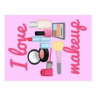 I love makeup Postcards