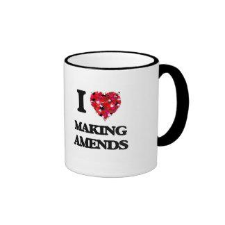 I Love Making Amends Ringer Mug