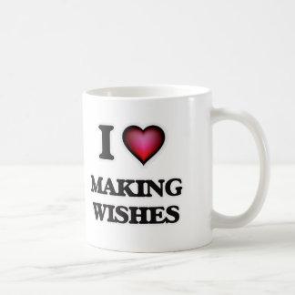 I love Making Wishes Coffee Mug