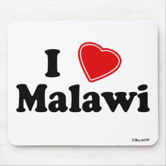 I Love Malawi Mouse Pad