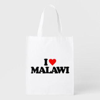 I LOVE MALAWI REUSABLE GROCERY BAG