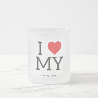 I Love Malaysia | I Heart MY Frosted Mug