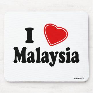 I Love Malaysia Mousepads