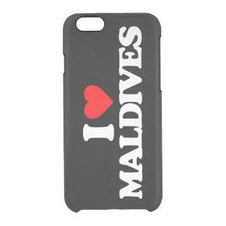 I LOVE MALDIVES CLEAR iPhone 6/6S CASE