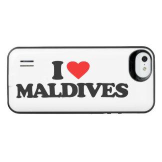 I LOVE MALDIVES iPhone SE/5/5s BATTERY CASE