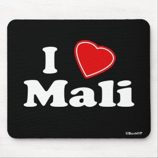 I Love Mali Mouse Pad