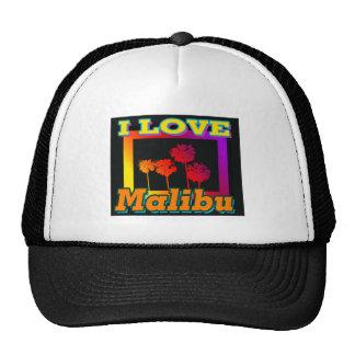 I LOVE Malibu Palm Trees in the Box Hat