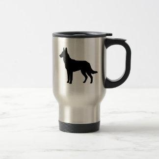 I Love Malinois Travel Mug