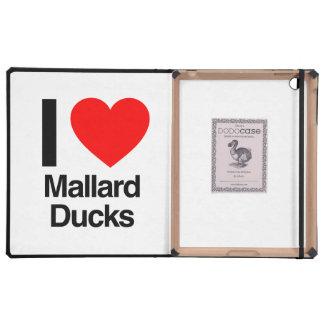 i love mallard ducks cover for iPad