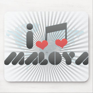 I Love Maloya Mousepads