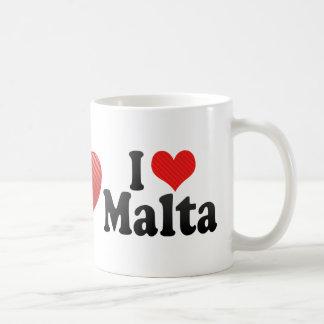 I Love Malta Coffee Mug