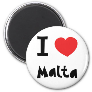 I love Malta Magnet