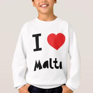 I love Malta Sweatshirt