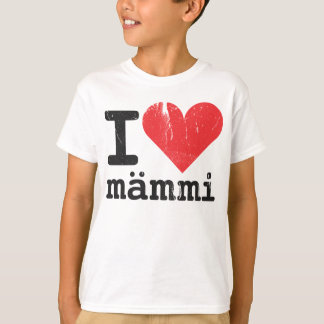 I Love Mämmi Kids' T-shirt