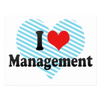 I Love Management Postcards